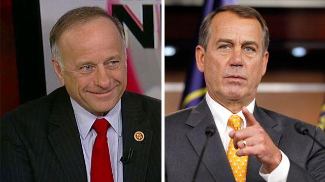 Rep. Steve King on split over immigration reform
