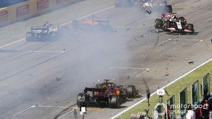 """Steiner : La F1 devrait envisager une """"restart zone"""" style NASCAR"""