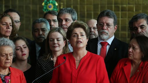 Michel Temer sworn in as Brazilian President after historic Rousseff impeachment