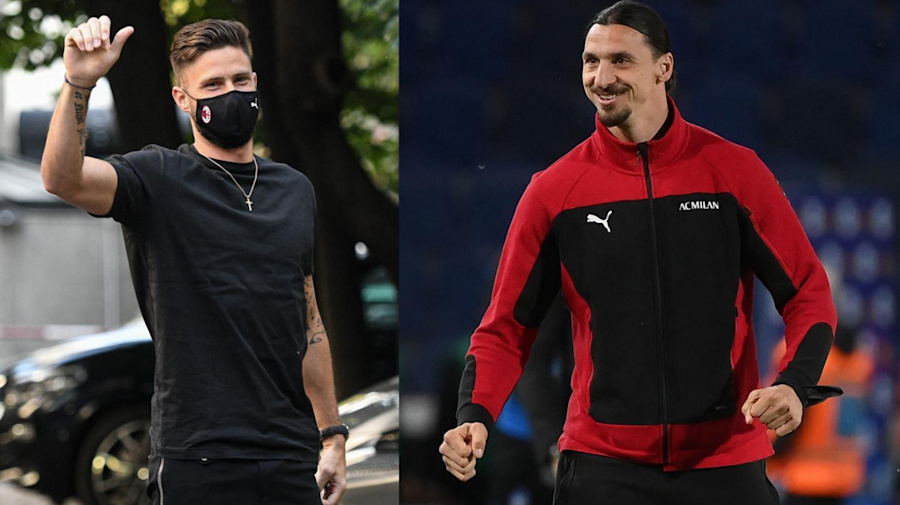Giroud convince già il Milan, Pioli pensa alla coppia con Ibra