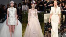 無人能抵抗的 Chanel、Dior、Elie Saab!巴黎高訂週 16 套最美嫁衣靈感集!