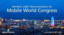 Semtech to Exhibit LoRa-Enabled IoT Applications at MWC Barcelona