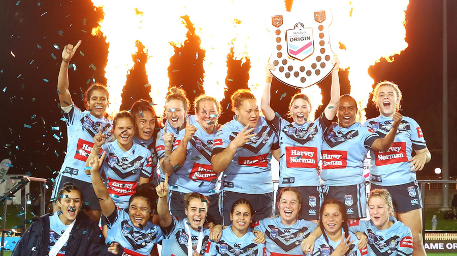 NSW win inaugural Women's Origin over Queensland