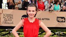 Millie Bobby Brown's only 12, but she's already wearing custom designer attire