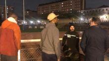 Paris : nouveaux tirs au stade de la porte de Saint-Ouen