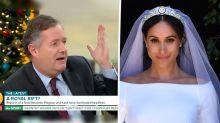 Piers Morgan accuses Meghan Markle of 'ghosting' him