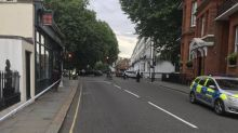 Kensington crash: Motorcyclist rushed to hospital after collision with car in west London