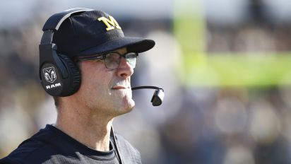 Harbaugh critical of Purdue locker rooms