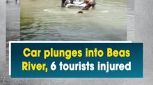 Car plunges into Beas River, 6 tourists injured