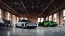 Porsche Exclusive Manufaktur has 90 customization options for the Taycan