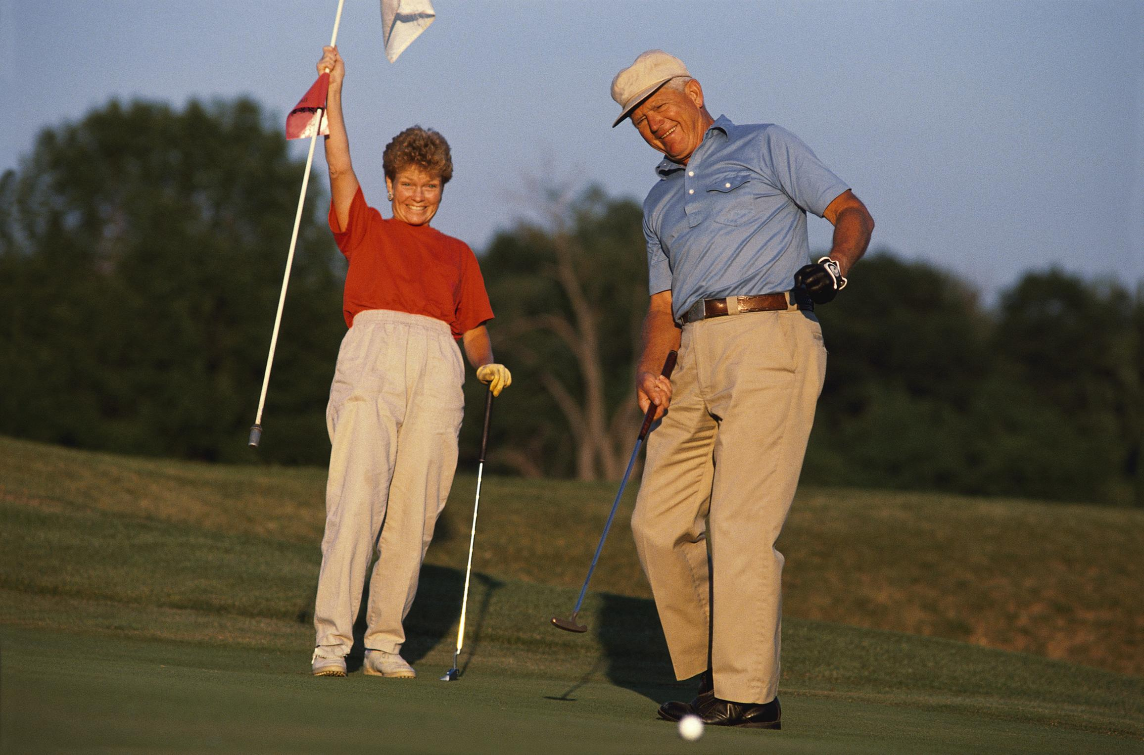 <p>Figures from the Office for National Statistics show that on average nearly a fifth of the money spent by people aged 65-74 is on leisure. This includes everything from the cinema and theatre to golfing and gardening. They spent more on this than on food, energy bills and transport.</p>  <p>A report by Canada Life found that retirees are spending £4,279 a year on having fun - that's more than £1,000 more than they spend on boring essentials, and is a 74% increase over the past ten years. It went on to predict that this trend was set to continue, and that pension freedoms would encourage people to spoil themselves a bit more in retirement</p>