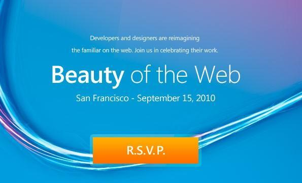 Internet Explorer 9 Beta launching September 15th, might enter a beauty pageant
