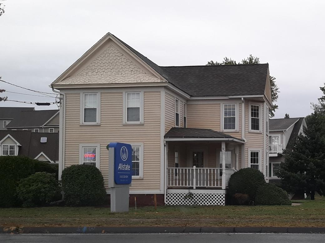 The new Allstate insurance office of Lyle Govoni in East Windsor.