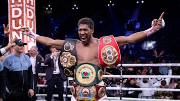 Joshua will defend titles vs. Pulev on June 20