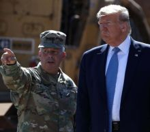 Trump tells reporters border wall is 'wired', immediately after army general asks him not to discuss in public