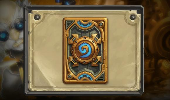 Hearthstone December ranked play card back