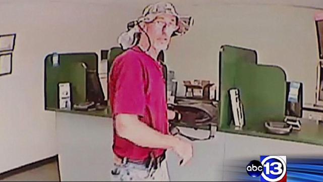 Police release video of suspect in Houston-area robberies