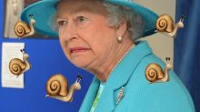The Queen's sassy message to staff after finding a slug in her meal