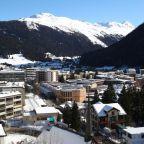 Greenwashing Davos