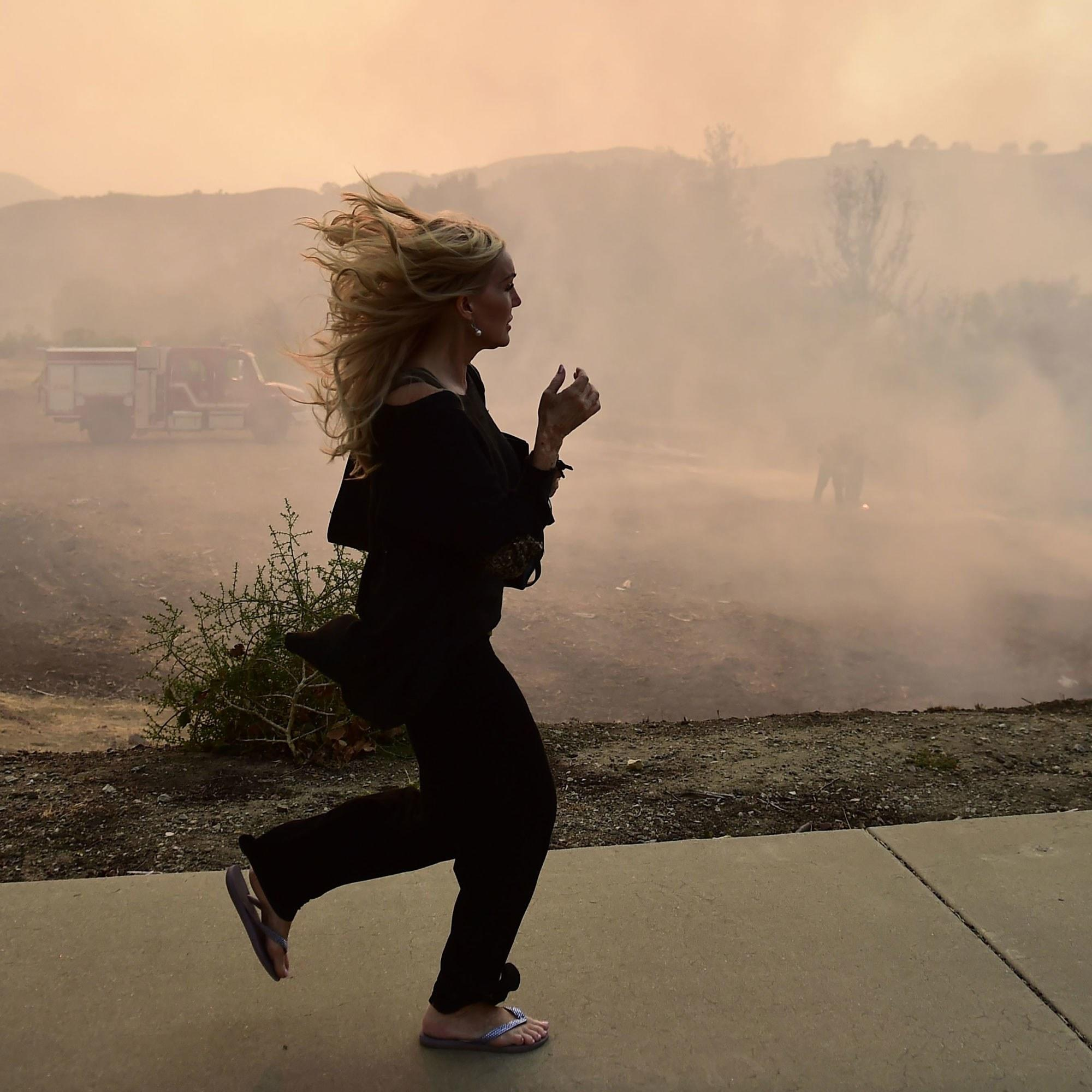 For Those Grappling With California Wildfires, Dangerous Air Quality Is a New Risk