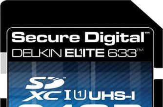 Delkin intros 64GB SDXC card, claims to be the fastest with 45MBps write speeds