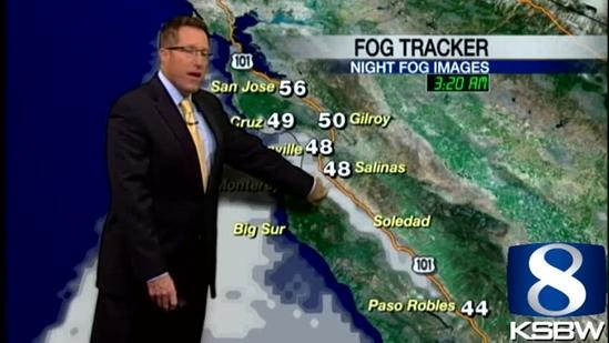 Get Your Tuesday KSBW Weather Forecast 4.23.16
