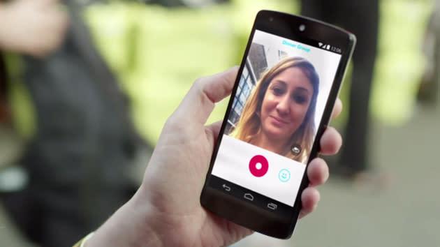 Skype Qik lets you swap short video messages with your friends
