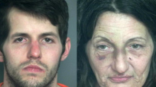 Mom and son arrested at Walmart for doing karate, stripping down