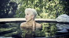 Helen Mirren defies her 72 years to pose topless for cancer charity campaign