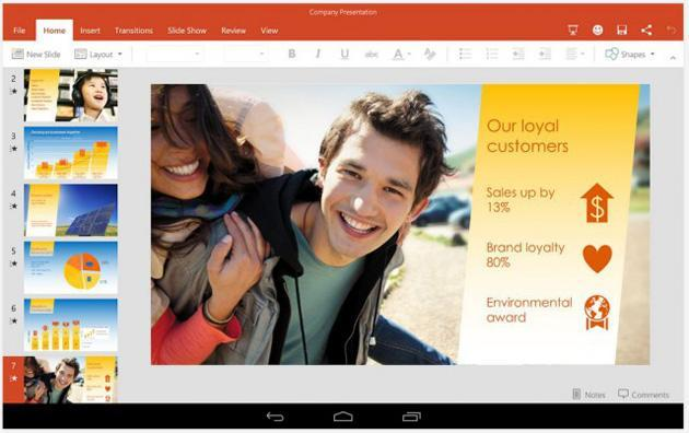 Microsoft's Office preview for Android tablets is now available to everyone