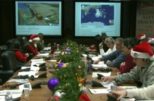 A visit to NORAD's Santa-tracking facility (video)