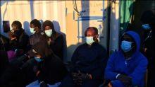 Flüchtlinge in Sizilien fliehen aus überfüllter Quarantäne-Einrichtung