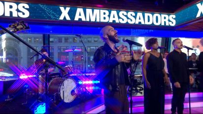 X Ambassadors sing 'Ahead of Myself' live