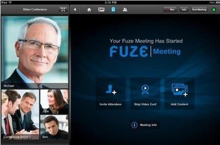 Daily iPad App: Fuze Meeting HD connects to telepresence systems