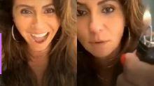 Giovanna Antonelli viraliza ao mostrar truque para evitar contaminação