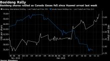 Huawei Fallout Hits Canada Goose Shares While China Rival Soars