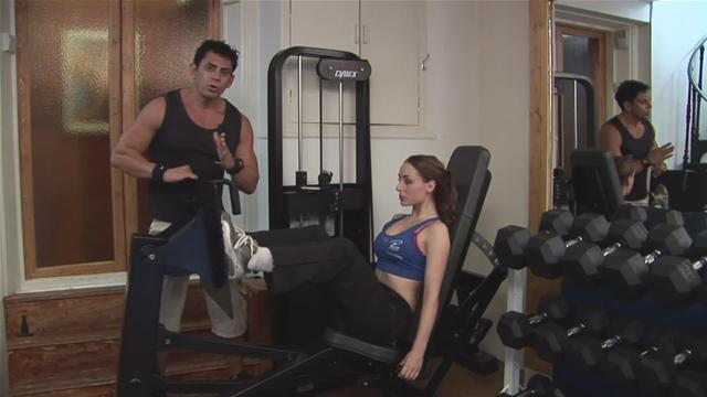 How To Workout With A Leg Press Machine