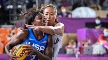 End-to-same-end stuff as 3x3 basketball makes Olympic debut