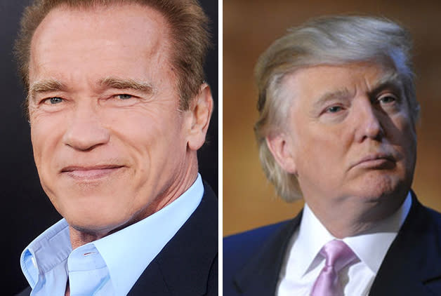Arnold Schwarzenegger To Donald Trump: You're Fired