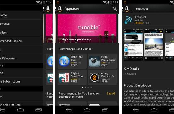 Amazon Appstore for Android joins the modern era with a slicker interface