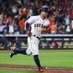 MLB roundup: Astros top Rangers on Jose Altuve's 10th-inning slam