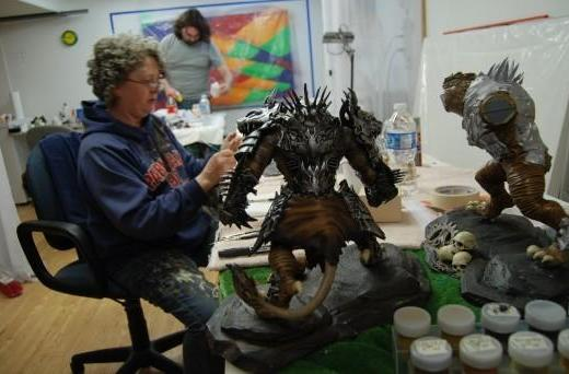ArenaNet shows the making of Guild Wars 2's collector's edition statue