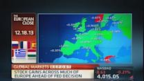 European markets close in the green