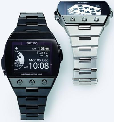 Seiko's 'active matrix' E Ink watch will be on sale by end of 2010