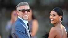 Vincent Cassel e la moglie Tina Kunakey al Festival di Venezia 2019