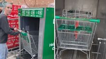'Love it': Shoppers react to new Woolworths trolley feature