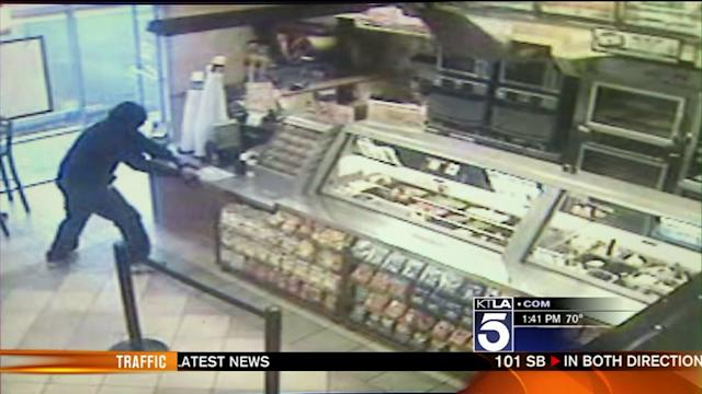 Man Sought in Subway Robbery in Santa Ana