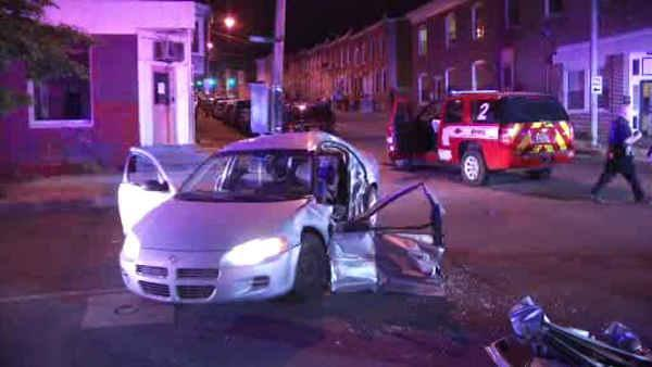 Driver injured in crash involving Delaware fire chief