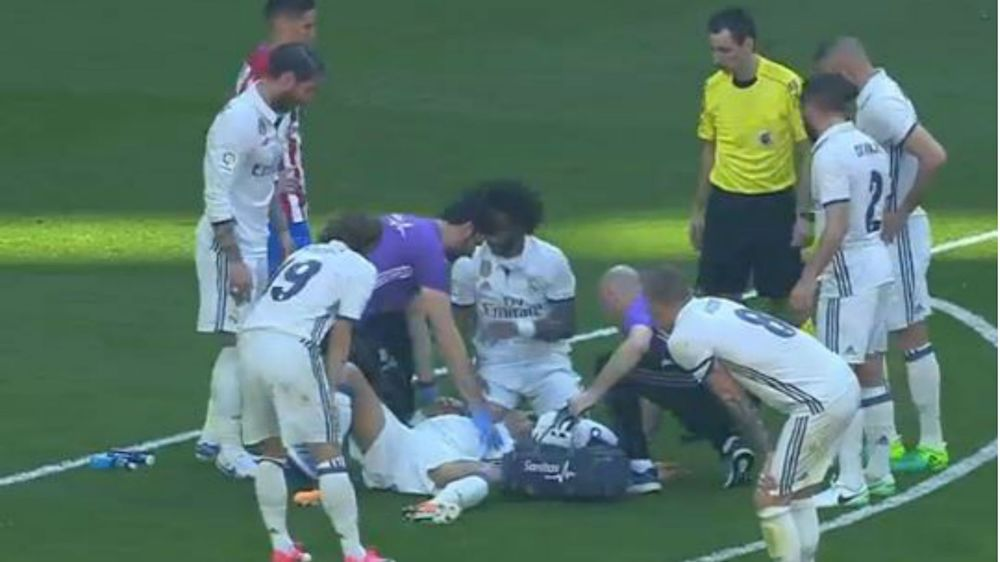 Real Madrid-Atlético, Pepe sort sur blessure