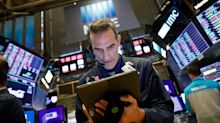 US STOCKS-S&P edges lower as Apple weighs, trade tensions ease
